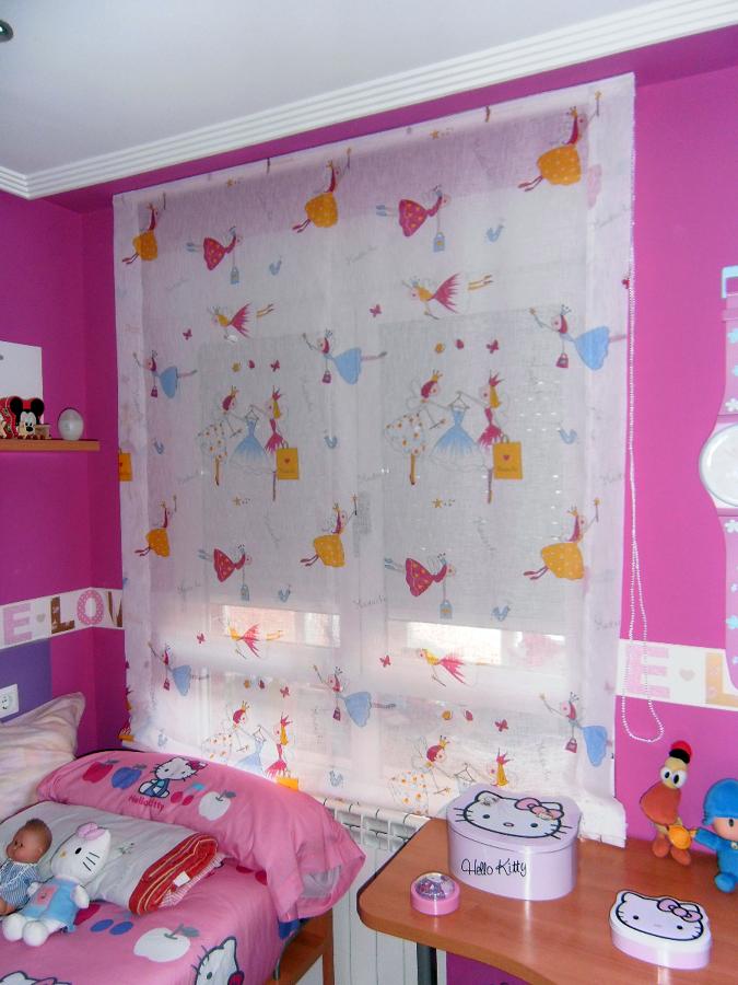 Foto estores infantiles de cortinas le n 207931 - Cortinas infantiles barcelona ...