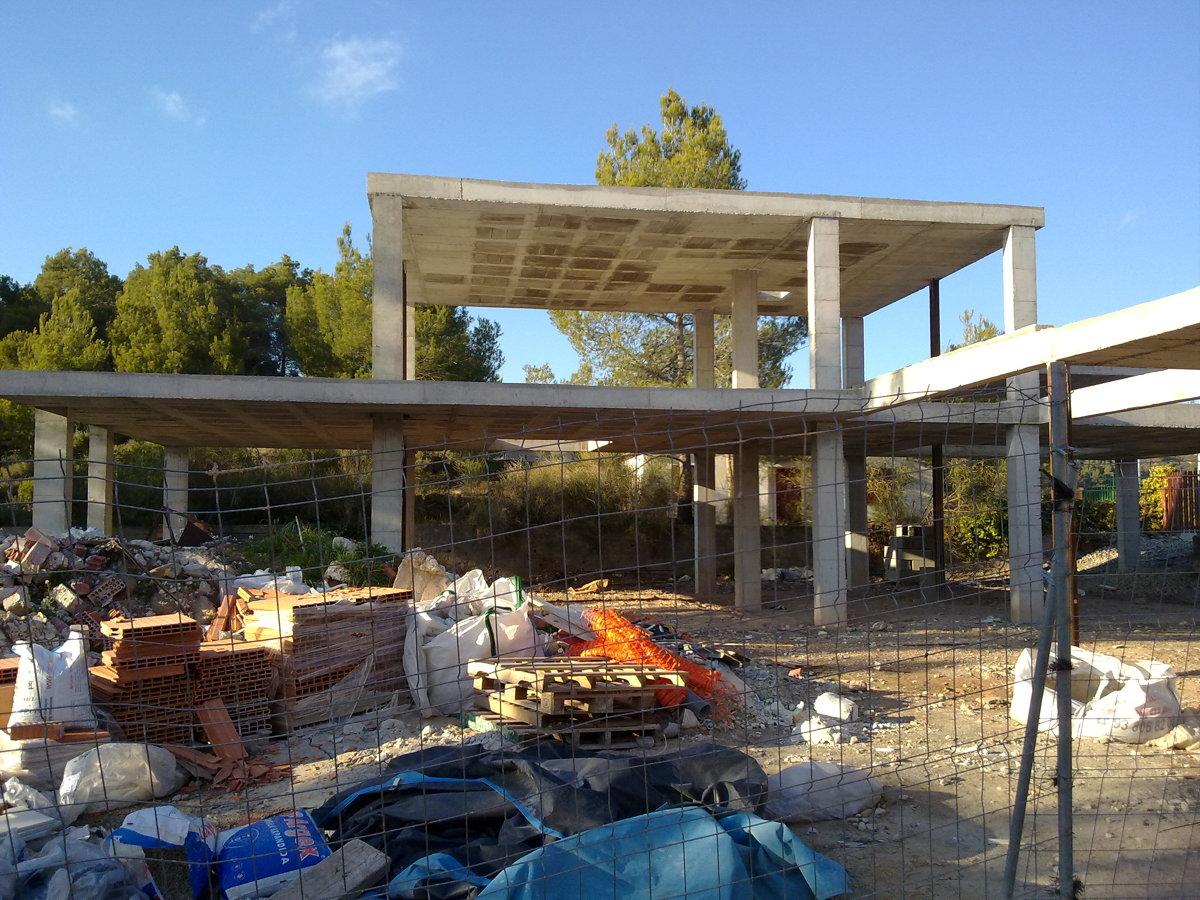 Estructura casa unifamiliar 2 (2011)