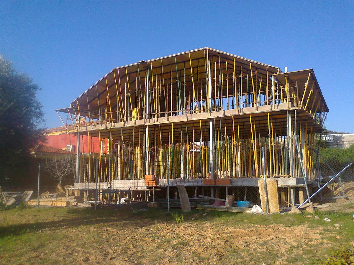 Estructura de casa en Ontigola Toledo