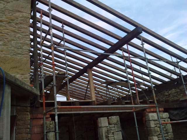 Estructura del tejado