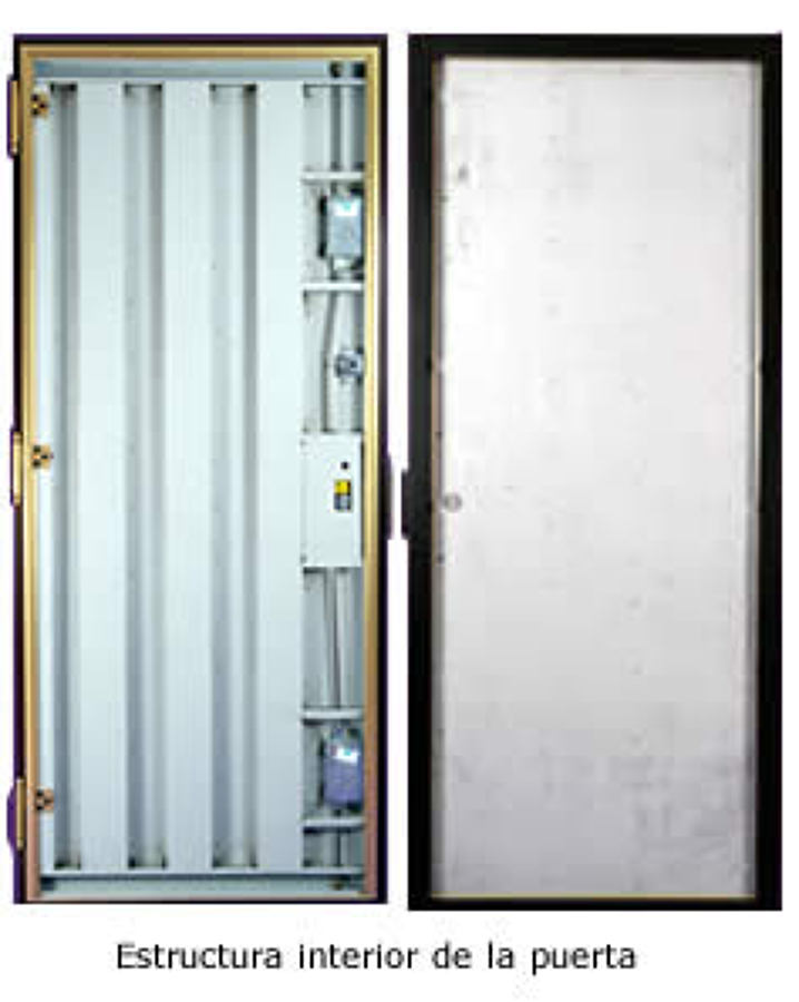 Foto estructura puerta acorazada kiuso de fichet point - Puertas kiuso ...