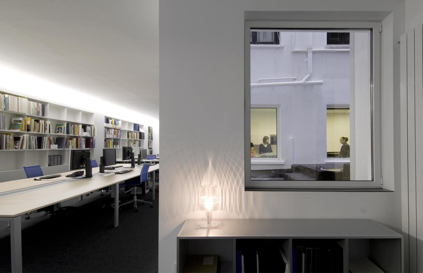 Foto estudio de arquitectura de patxi cortazar villaverde for Estudios arquitectura zaragoza