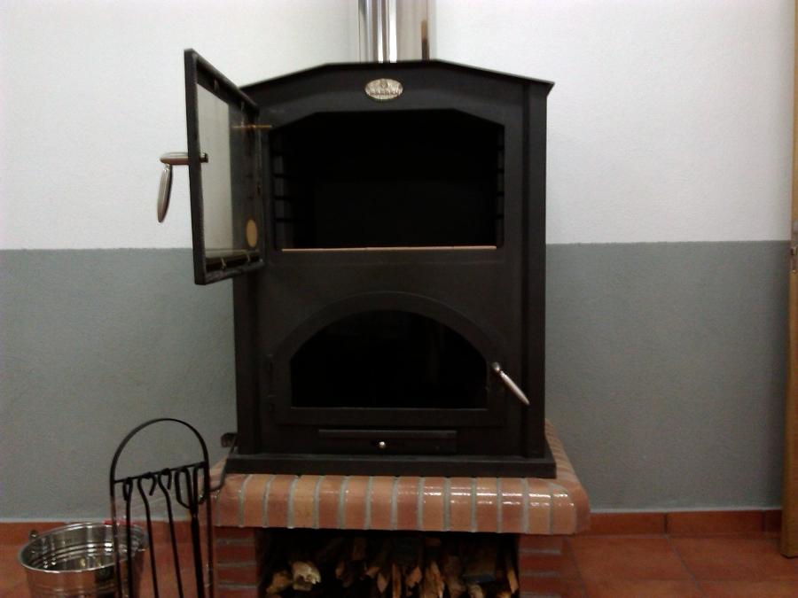 Foto estufa le a de calefacci n fontaner a gas gafer - Foto estufa ...