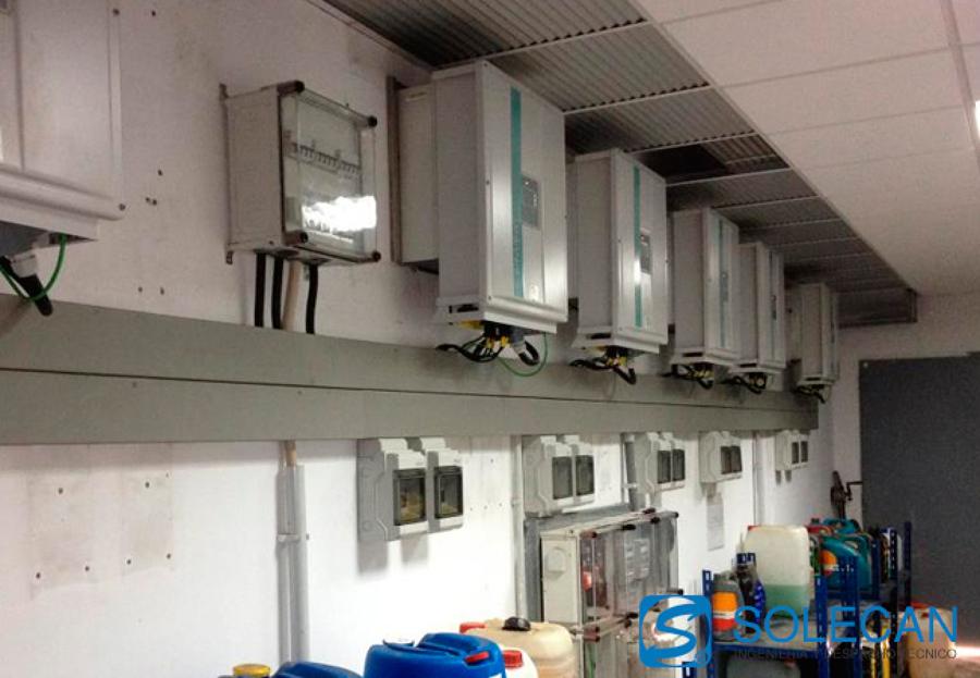 Adecuación de planta fotovoltaica de 70 kWn