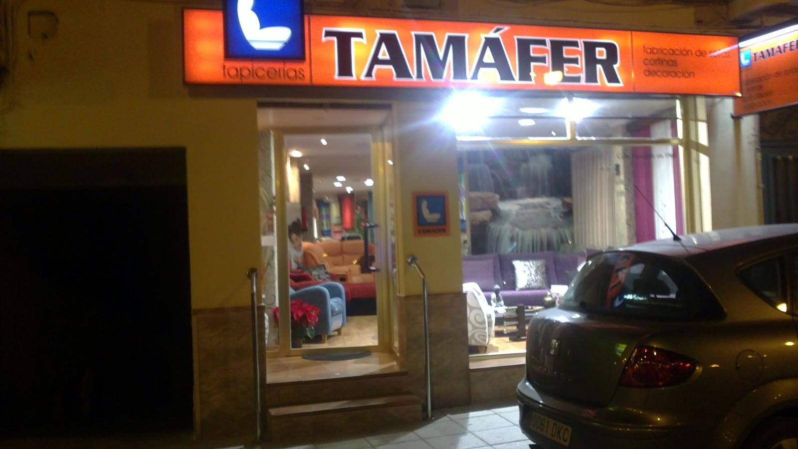 Foto exterior tienda tam fer tapicerias de tam fer - Tapiceros en salamanca ...