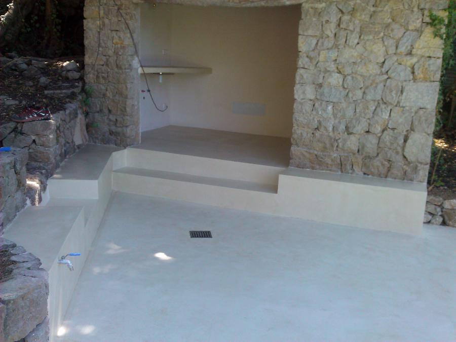 Foto exteriores despues de aplicar micro cemento de beny - Microcemento para exterior ...