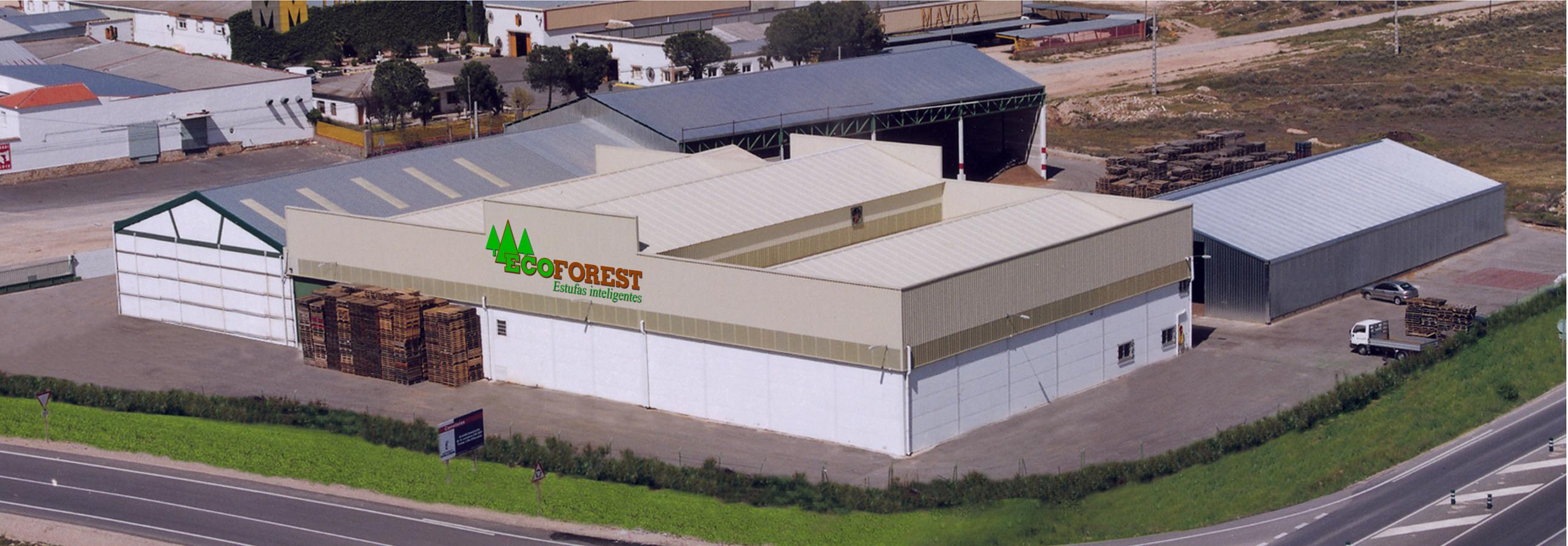 Foto: Fabrica de Pellets Villacañas, de Biofogo Energias S ...