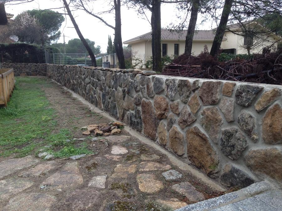 Foto fabrica muro de piedra natural de vasal reformas s l - Muros de piedra ...