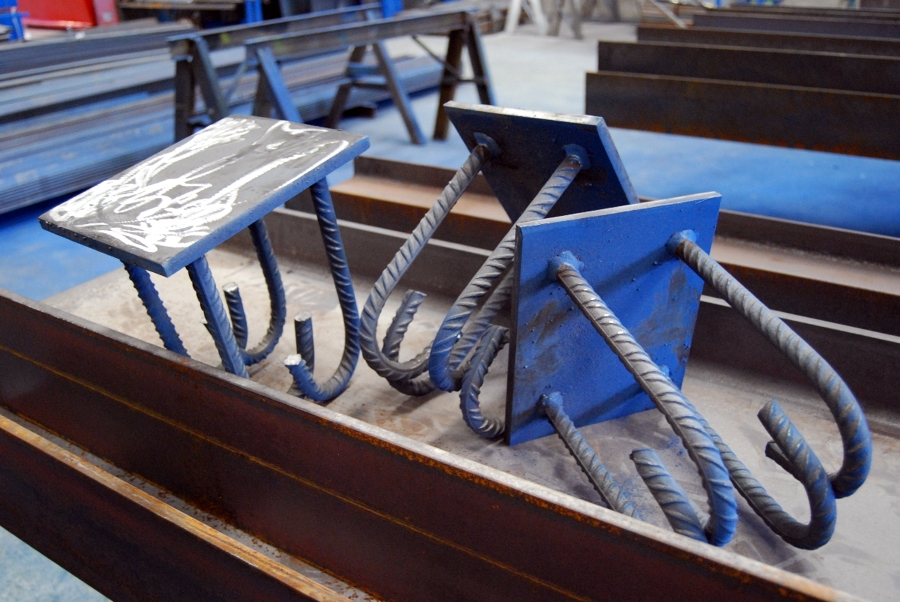 Fabricacion de ferralla y placas de anclaje