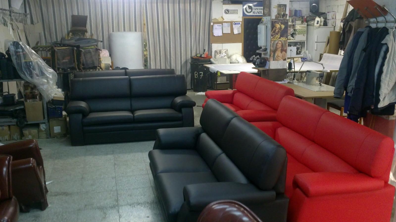 Foto fabricaci n de sofas de tam fer tapicerias c b - Tapiceros en salamanca ...