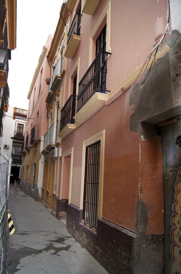 Fachada calle Mensaque (antes)