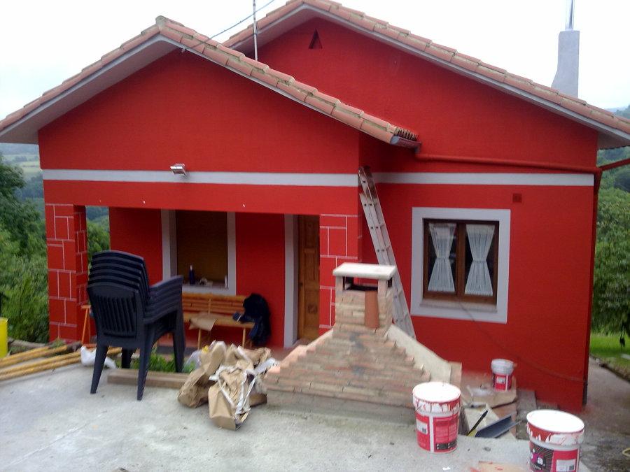 Foto fachada casa de pueblo de construcciones ca miguel - Fachadas de casas de pueblo ...