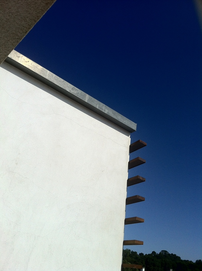 Centro Cultural Vista Alegre. Fachada con cubierta