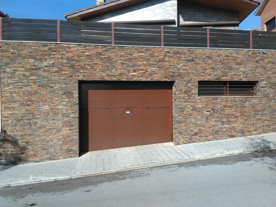 Foto fachada con piedra rustica de construccions roc s l - Fachadas de piedra rustica ...