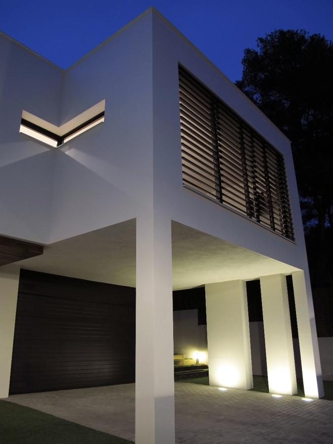 Foto fachada con ventanales y cerramientos tipo - Sans arquitectes ...