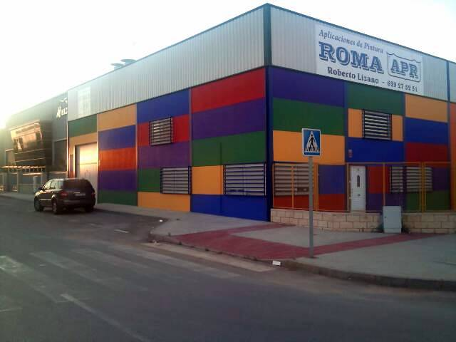 Foto fachada de la empresa de aplicaciones de pinturas - Empresas de fachadas ...