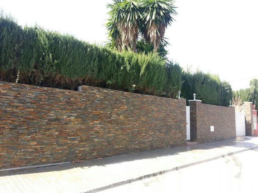 Foto fachada de piedra de construcciones mobares 514578 - Aplacado piedra fachada ...