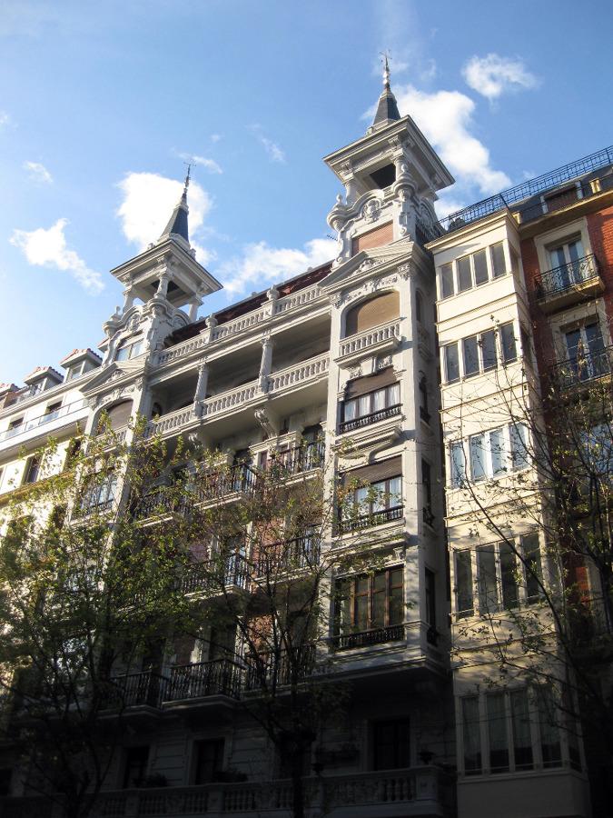 Fachada edificio Urbieta 20, San Sebastián