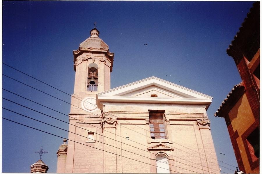Fachada Iglesia Urrea de Gaen Despues