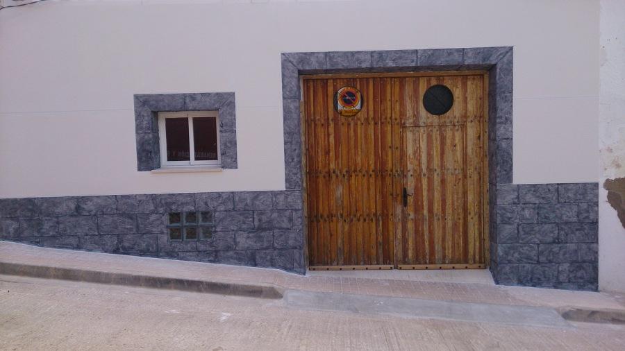 Foto fachada monocapa de agust n garc a l pez 634609 - Fachadas con monocapa ...