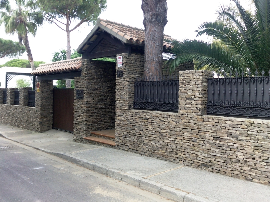 Foto fachada piedra natural de bennus gades - Piedra fachada exterior ...
