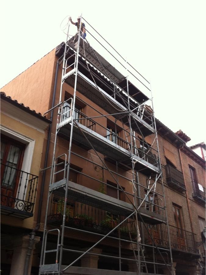 Foto fachada y cubierta alcala de henares de acons for Piscina cubierta alcala de henares