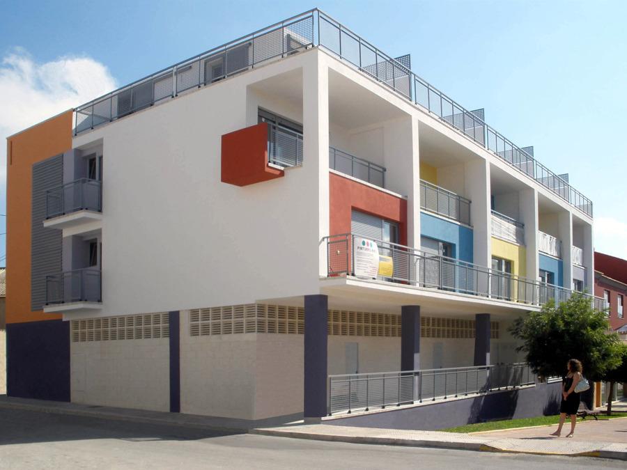 Foto edificio de viviendas en beniarbeig alicante de - Arquitectos en alicante ...