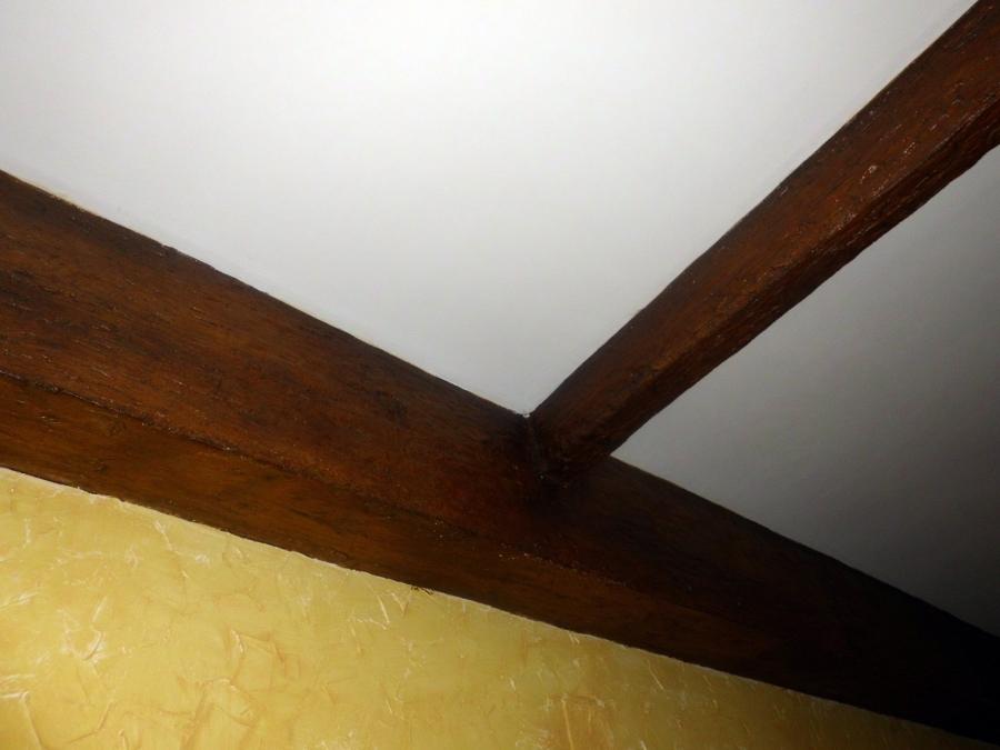 Foto falsas vigas de madera de pinturas joni 234607 - Vigas falsas de madera ...