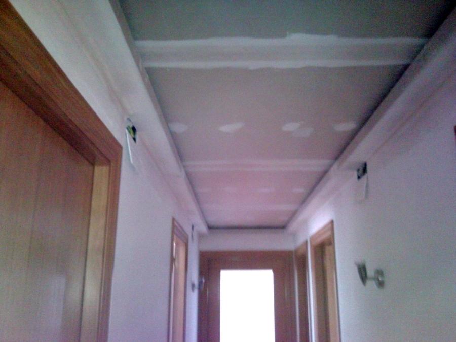 Foto falso techo con foseado para retorno de aire - Falsos techos de pladur ...