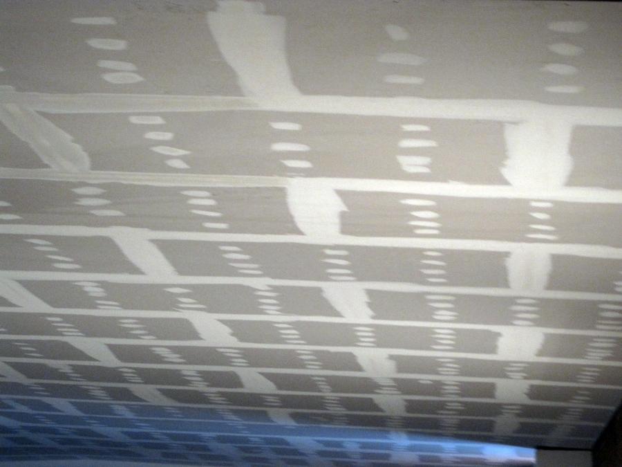 Falso techo continuo de yeso laminado