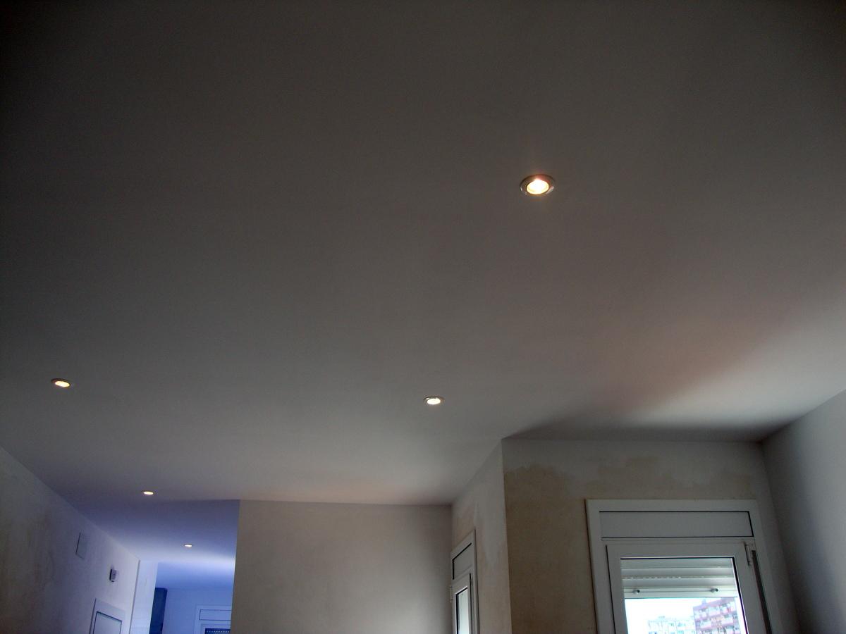 Foto falso techo de pladur de studio banys i cuines - Fotos de techos de pladur ...