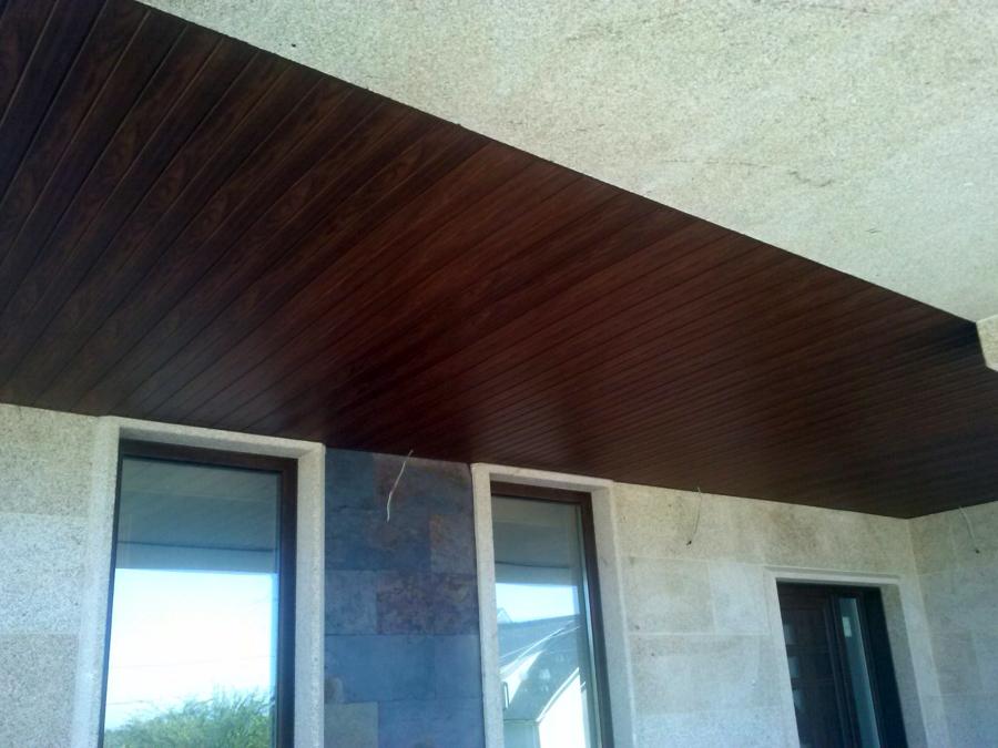 Falso techo lamas madera great en solostocks puedes - Falso techo madera ...