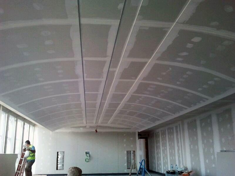 Foto falso techo pladur de falsos techos y pladur - Bajar techos con pladur ...