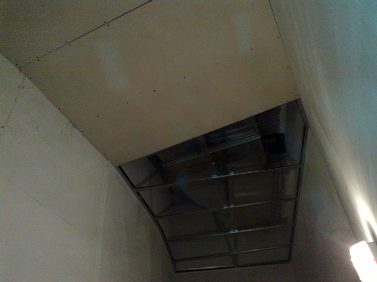 Foto falso techo pladur de home insulation 240499 for Falso techo rustico