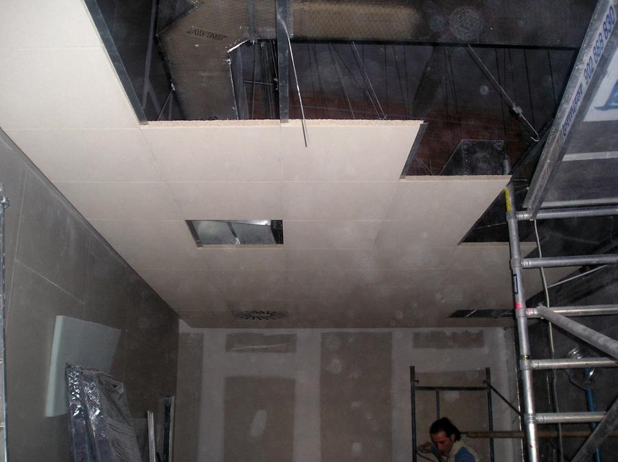 Foto falso techo rejistrable de yesdecor 274371 - Hacer falso techo ...
