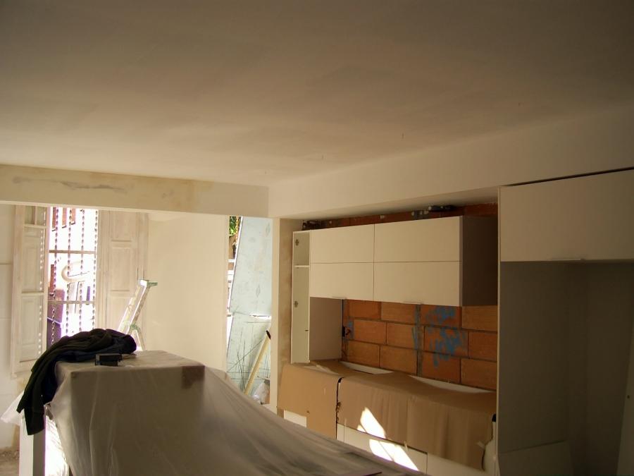 Foto falso techo y cajones de pladur de yesos barnaguix - Falsos techos de pladur ...