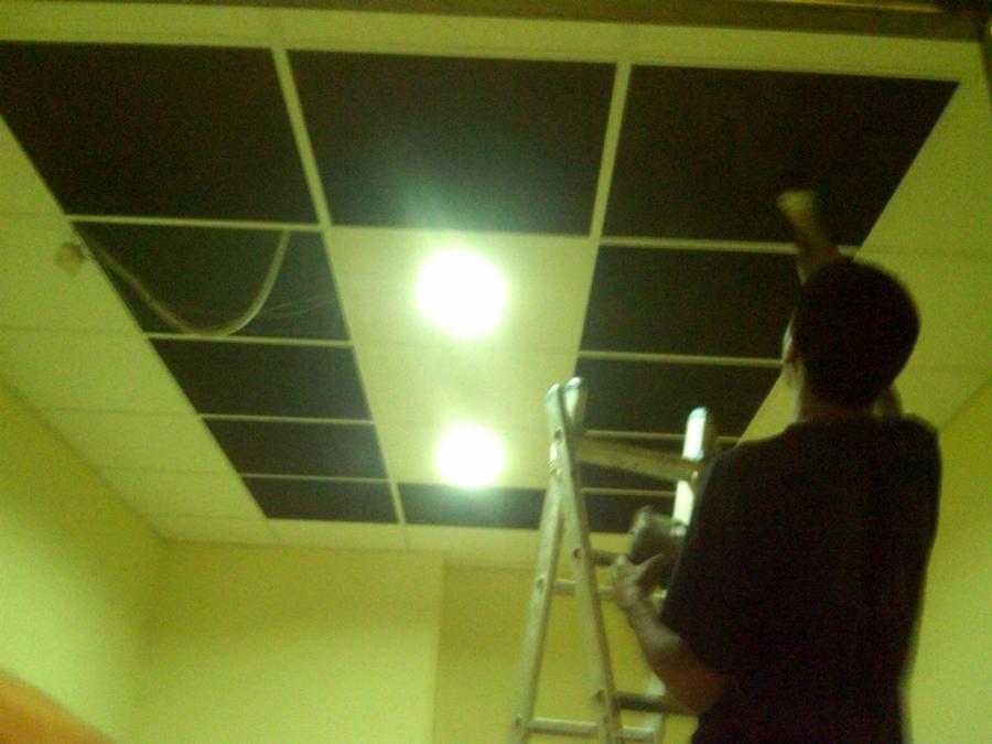 Foto falzos techos decorados de argent reformas 373052 for Techos decorados