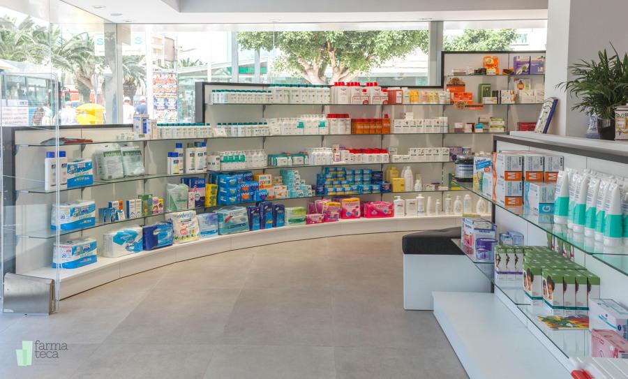 Proyecto mobiliario Farmacia (Ibiza)