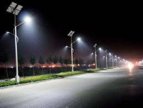 Foto farolas led solar de ledkos iluminacion eficiente - Farolas led solares ...