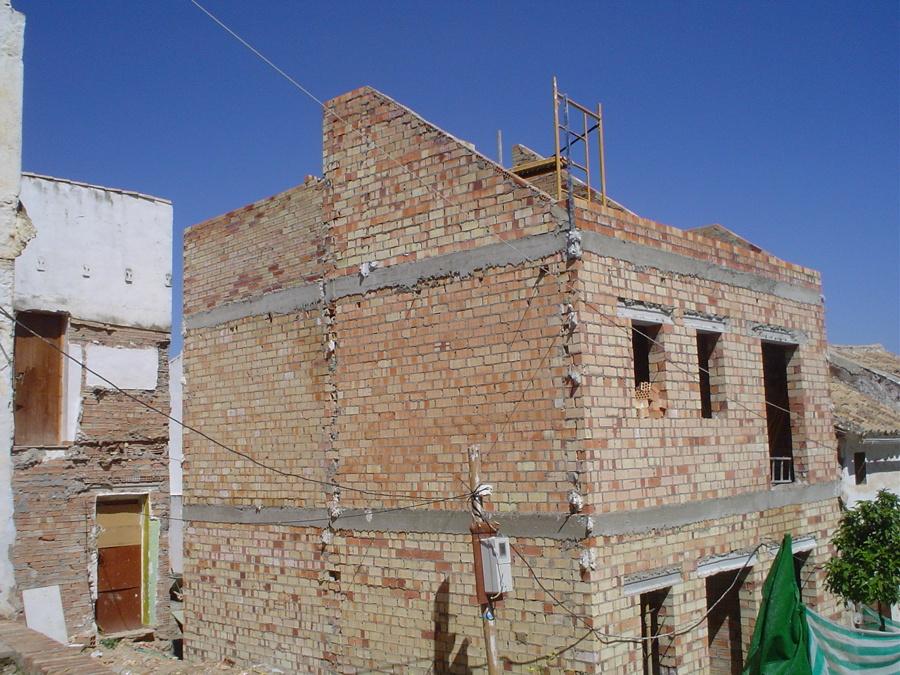Foto fase cerramiento exterior finalizada de for Jm decoracion granada