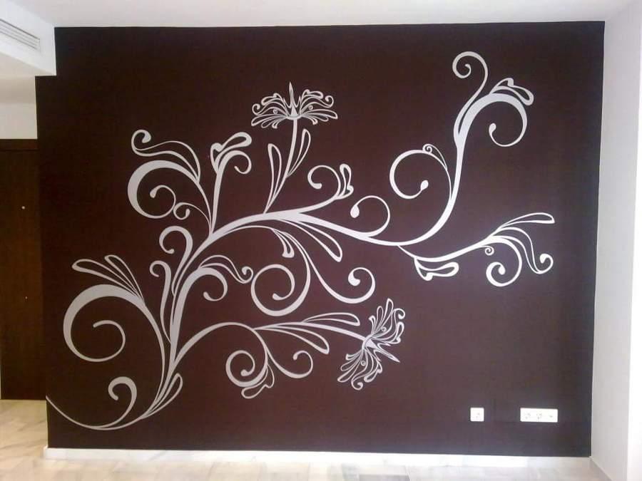 Foto pared granate vinilo blanco de aplicaciones for Vinilos pared blancos