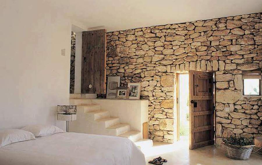 Foto pared en piedra natural de lo max chill out - Piedra natural para paredes interiores ...