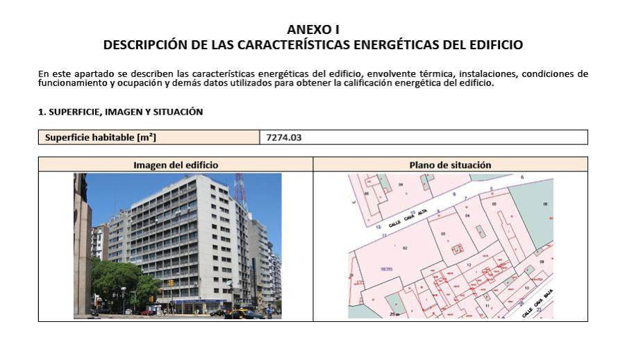 Foto ficha certificado energ tico de procener madrid for Certificado energetico en santander