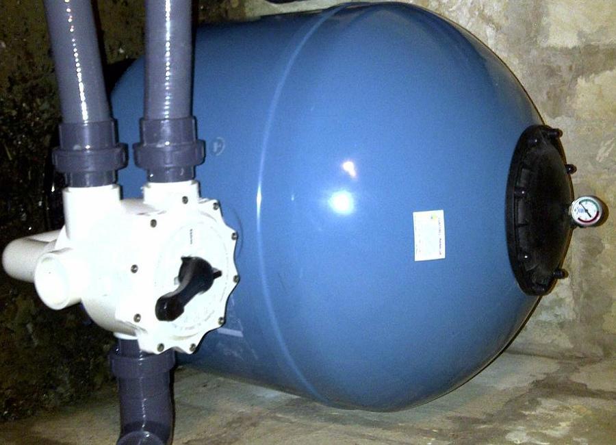 filtro de piscina de 350 kl de arena silex