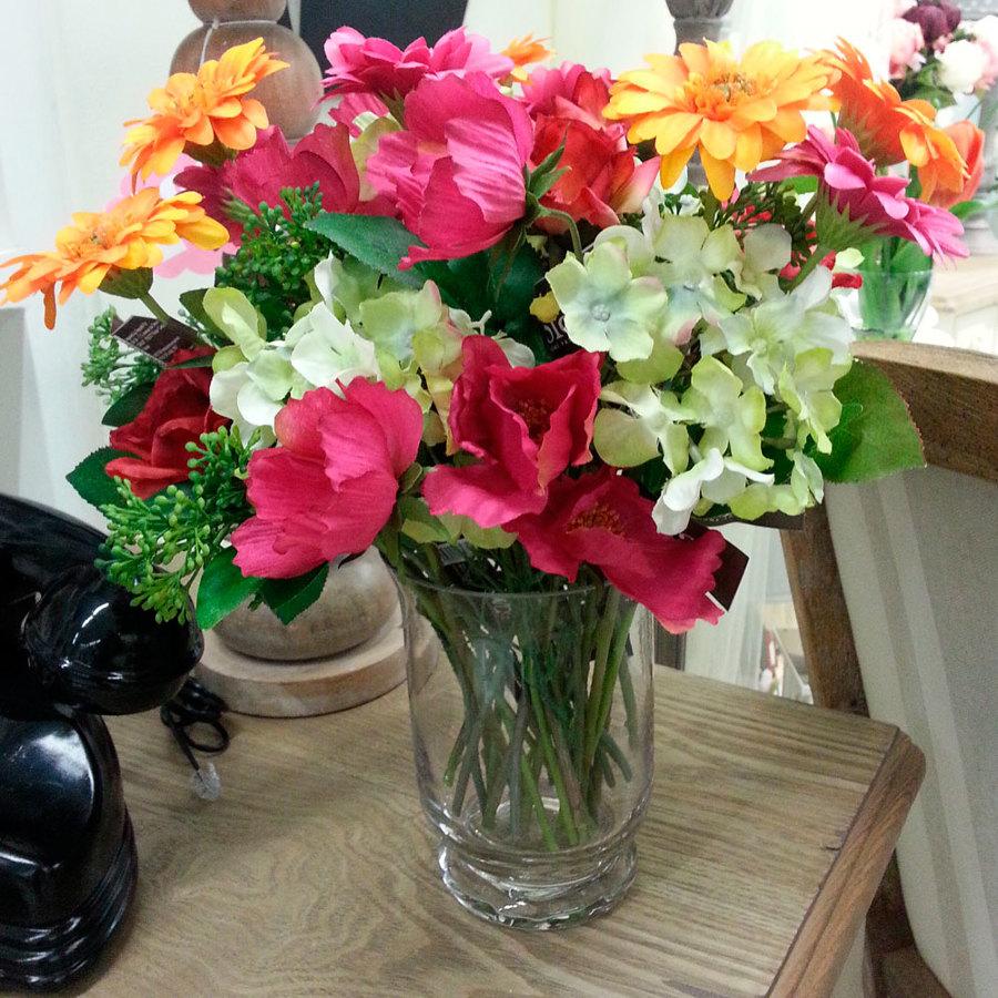 Foto flores silvestres artificiales de for Plantas artificiales decoracion