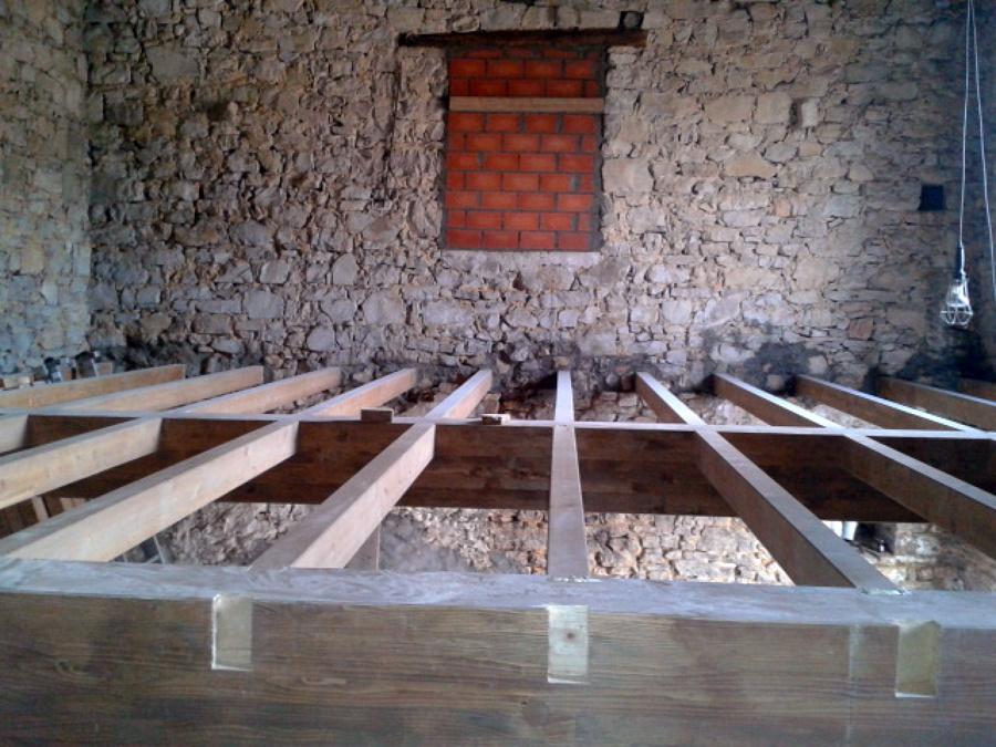 Forjado de madera