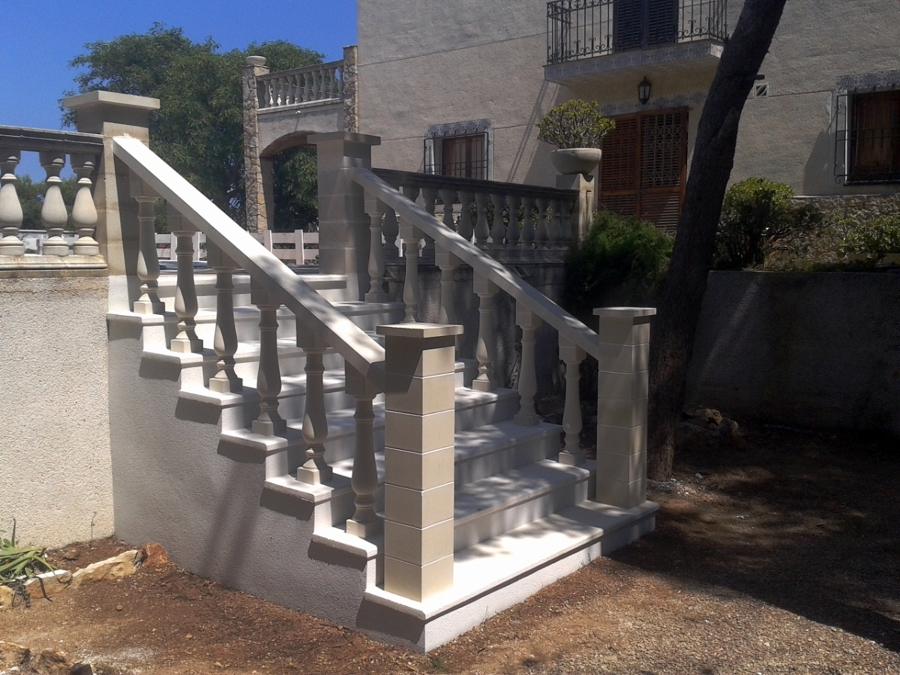Formación de escalera