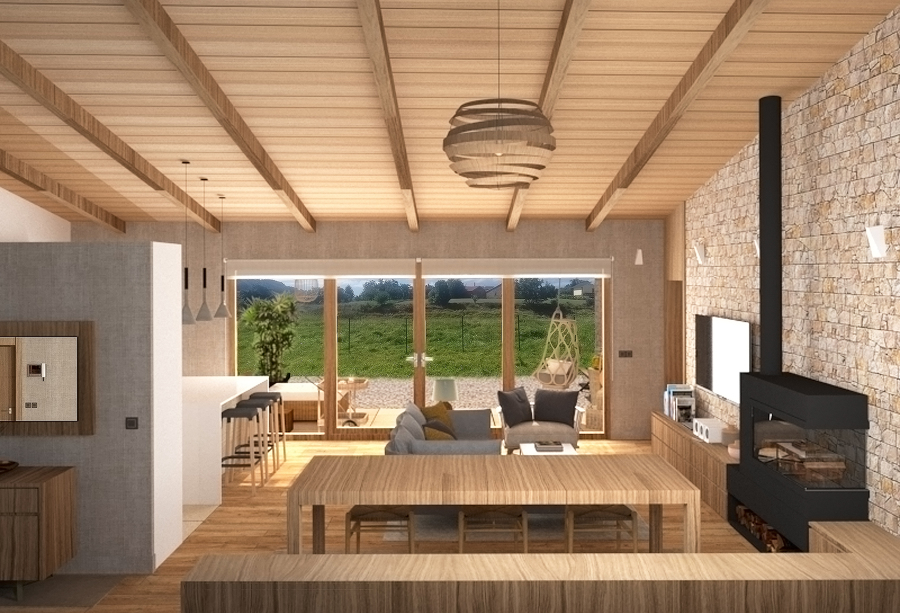 Diseño y construcción de una vivienda unifamiliar en Cabueñes, Gijón