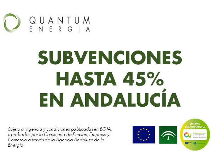 Quantum Energía Verde tramita subvenciones para hogares y empresas