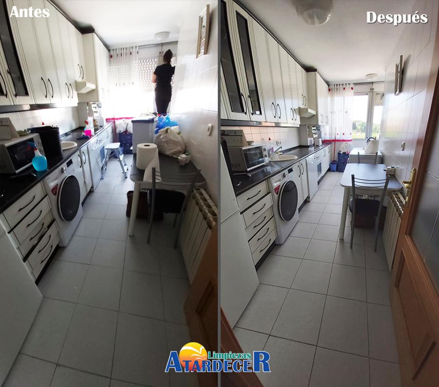 Limpieza de cocina clásica